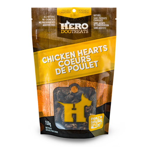 Dehydrated Chicken Hearts – 150g