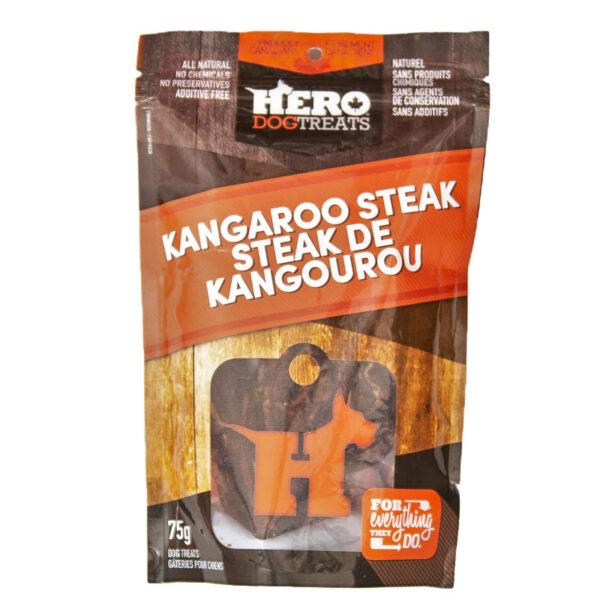 Dehydrated Kangaroo Steak – 75g