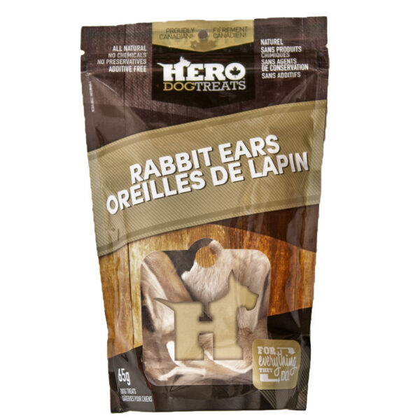Dehydrated Rabbit Ears – 65g